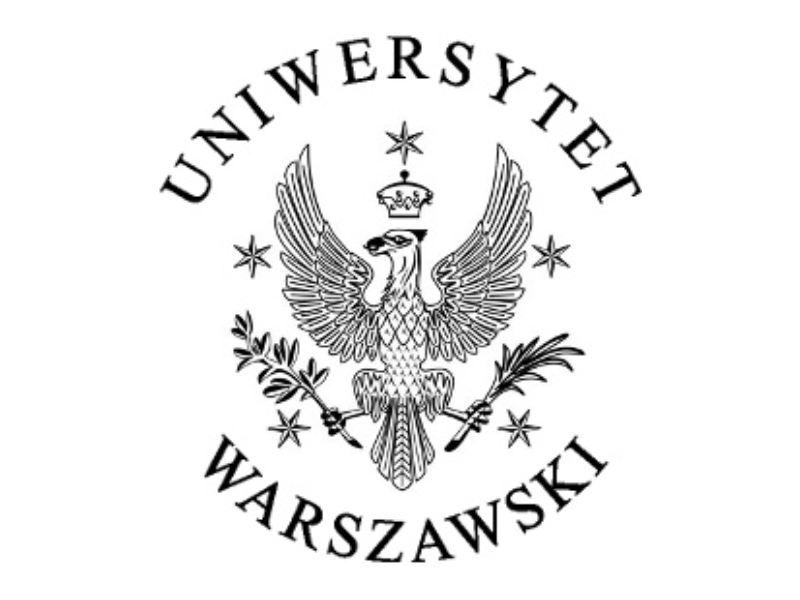 Znalezione obrazy dla zapytania uniwersytet warszawski logo